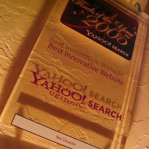 Yahoo Best INnovative Website Award